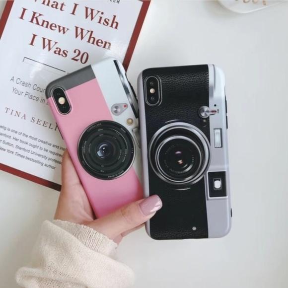 reputable site 66aa2 c3d4c NEW iPhone X Camera Case W/pop socket Boutique